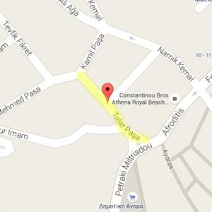 Թալաթ փաշայի փողոցը Կիպրոսի Պաֆոս քաղաքում (© Google Maps)